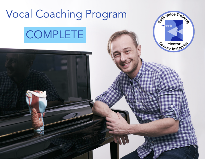 Vocal Coaching program complete quadrato