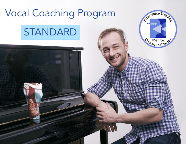 Vocal coaching Program STANDARD quadrato